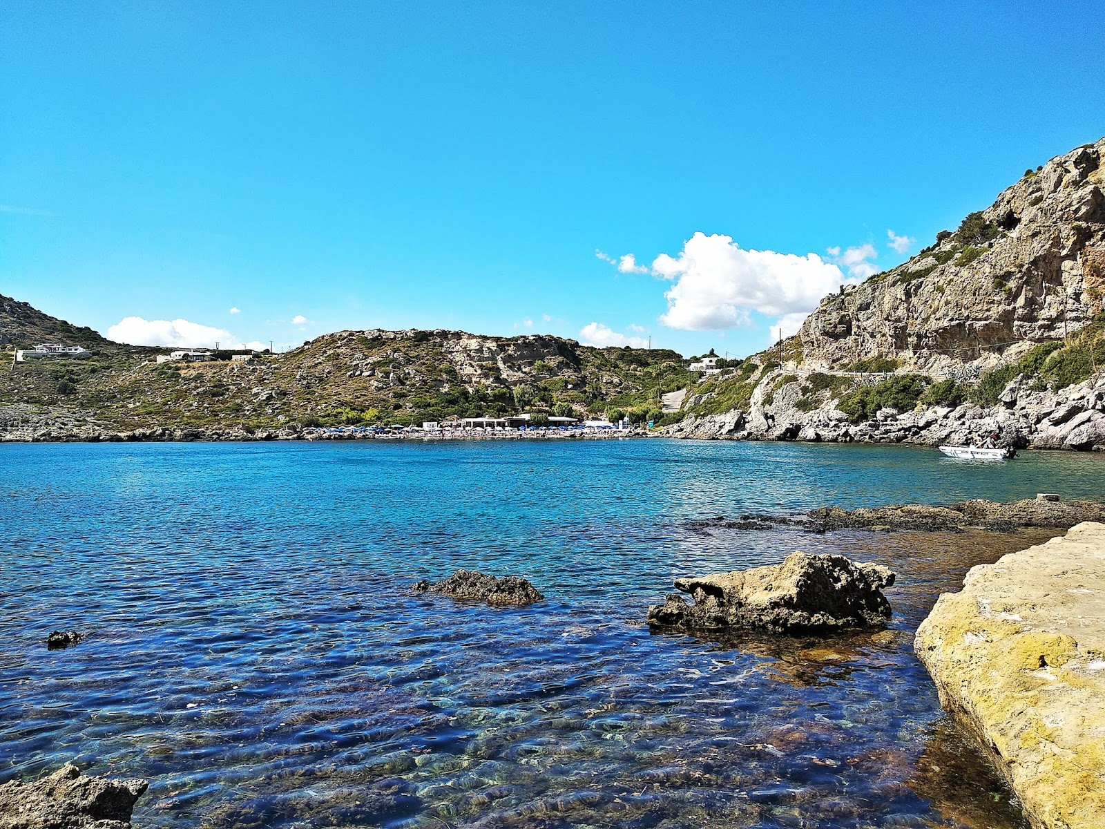 ladiko beach plaża rodos rhodes grecja  podróż poślubna karyn blog modowy