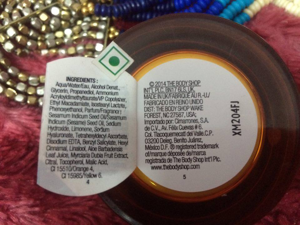 Kaurzscoop The Body Shop Vitamin C Glow Boosting Moisturiser Review