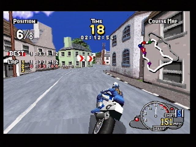 Manx TT superbike Game PC Free working for Windows XP