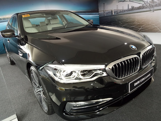 BMW 530d Luxury at the BMW Expo 2017 BMW XPO | Benteuno.com