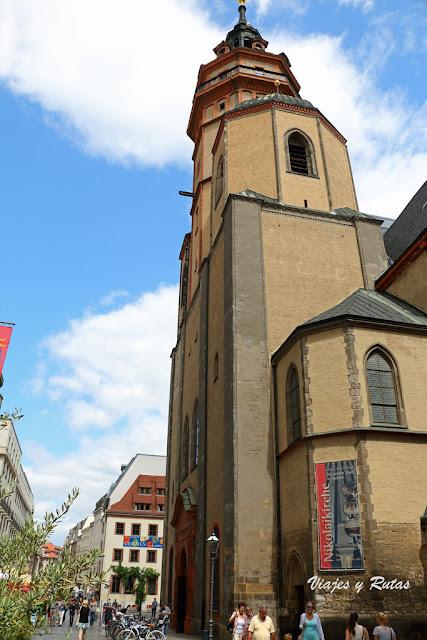 Nikolaikirche, Leipzig, Alemania