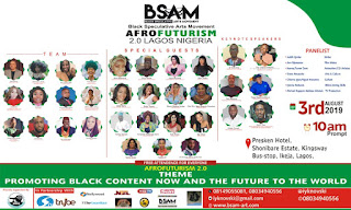 Nigeria FilmMaker / Black Speculative Arts Movement, National Director Emmanuel Ikenna Nwani Set To Host Dr Reynaldo Anderson ( Executive Director / Co - Founder, BSAM ) & International Team Members At AfroFuturism 2.0 Lagos Nigeria