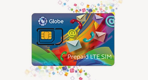 globe prepaid lte sim