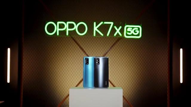 Spesifikasi dan Harga OPPO K7X 5G