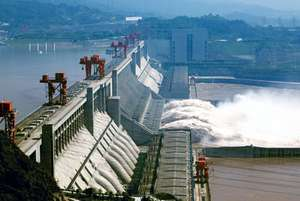 Three Gorges Dam which is currently the largest dam in world