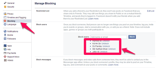 facebook-par-friend-ko-block-unblock-kaise-kare