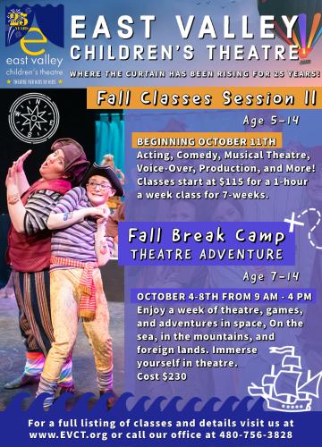 East Valley Children's Theatre presents