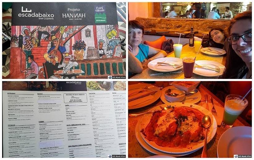 Escadabaixo e Café das Geraes - Onde comer em Ouro Preto, Minas Gerais: cafés e restaurantes em Ouro Preto