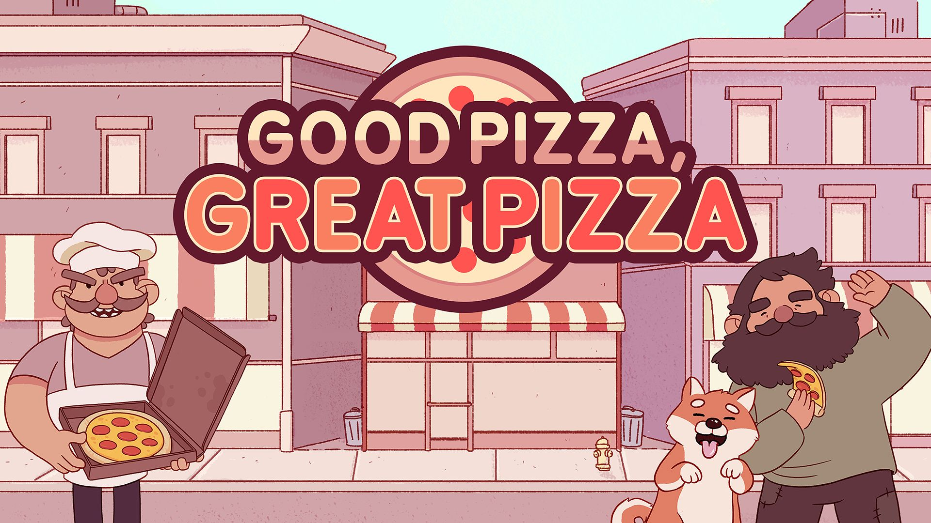 Good Pizza, Great Pizza v1.0 NSP XCI NSZ For Nintendo Switch