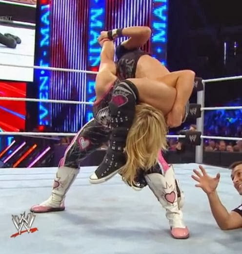 AJ Lee vs Natalya on WWE Main Event