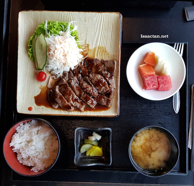 Beef Teriyaki Set