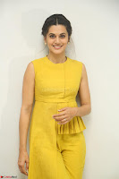 Taapsee Pannu looks mesmerizing in Yellow for her Telugu Movie Anando hma motion poster launch ~  Exclusive 092.JPG