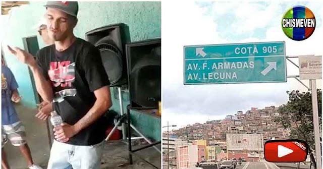 El Coqui confirma que tiene a toda Caracas dominada con sus 200 pistoleros