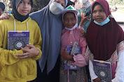 Ridhatul Meliana, Mahasiswi Keperawatan USK ikuti Kegiatan Baksos Bersama Yayasan IYA