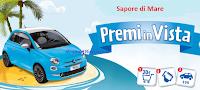 Logo Sapore di Mare ti fa vincere 2 Fiat 500 Pop