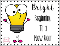 cover page for Bright Beginning for a new year