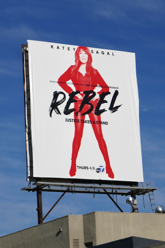 Katey Sagal Rebel season 1 billboard