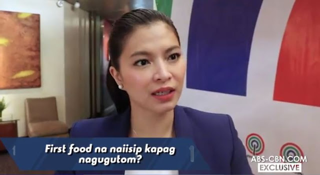 A Fun Interview With Angel Locsin Doing The 'First Thing Challenge'