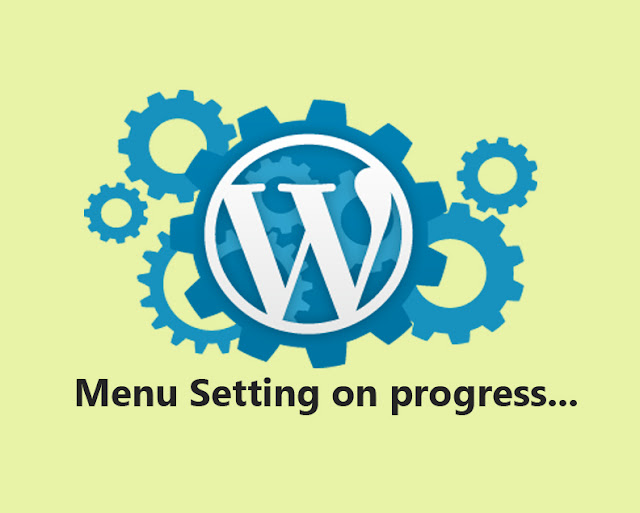 menu setting di wordpress