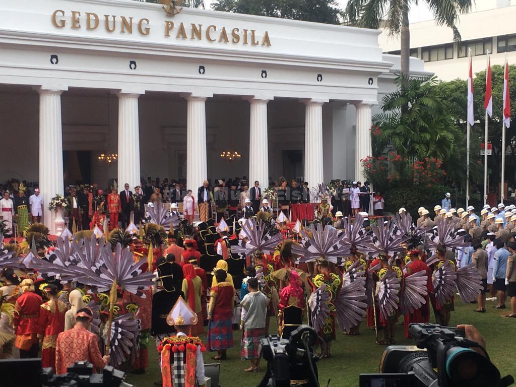 Upacara Pancasila, Jokowi Nyatakan Sudah Berhasil Turunkan Angka Kemiskinan