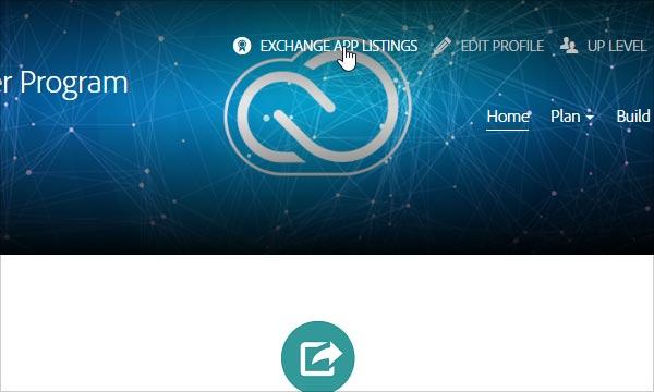 Click on Exchange App Listings