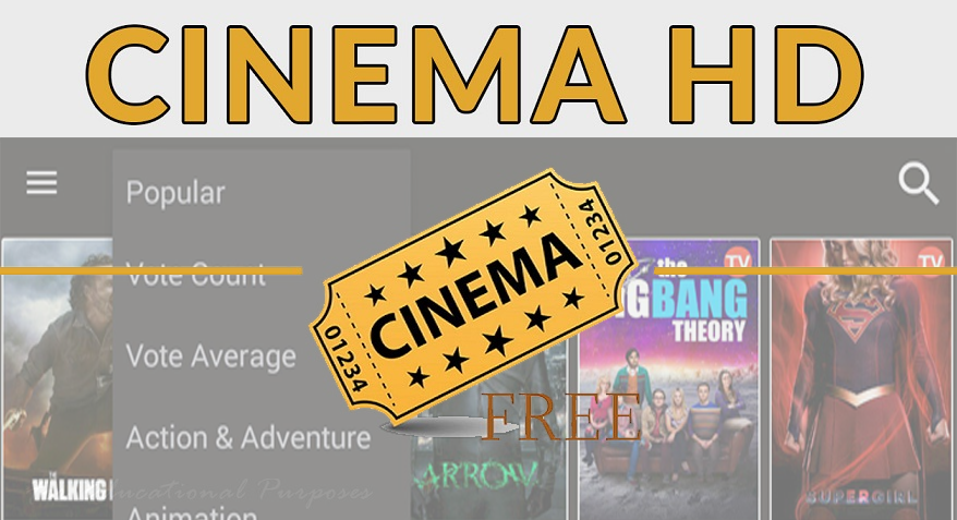 How To Install CINEMA APK On Fire TV, Firestick, Android Box