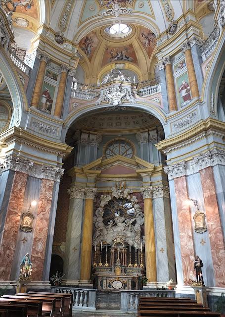 Bra, Piedmont. Church of Santa Chiara by Vittone from 1742