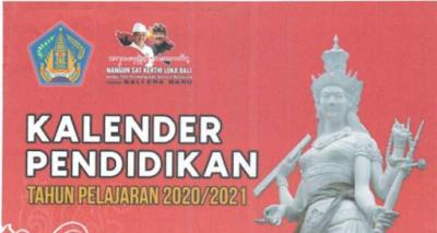 Kalender Pendidikan Provinsi Bali 2020/2021