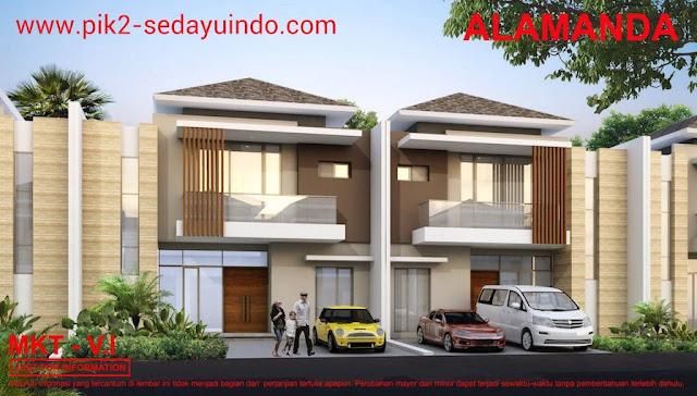 PIK2 Sedayu Indo City Cluster Springville Tipe Alamanda