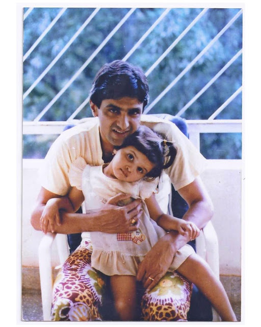 Deepika with her Dad