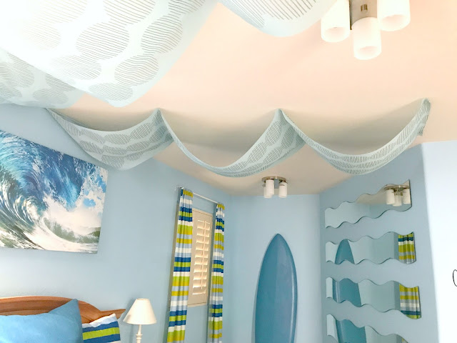 Wave Themed Teen Room