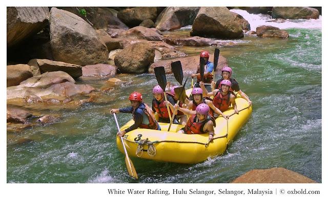 Water rafting Selangor Malaysia - Ramble and Wander