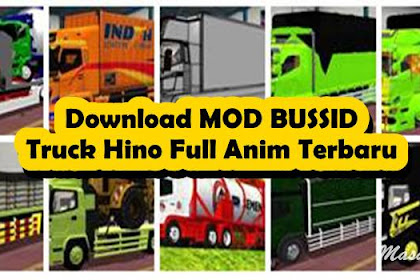 10+ Download MOD BUSSID Truck Hino Full Anim Terbaru 2021