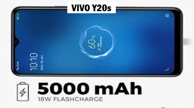 Vivo Y20s Harga dan Spesifikasi