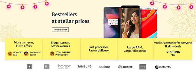 Amazon Great Indian Sale: Grab Bestseller Smartphones at Stellar Prices: eAskme