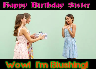 Birthday Letter for Sister - A Younger Sister