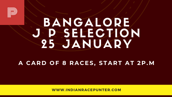 Bangalore Jackpot Selections 25 January