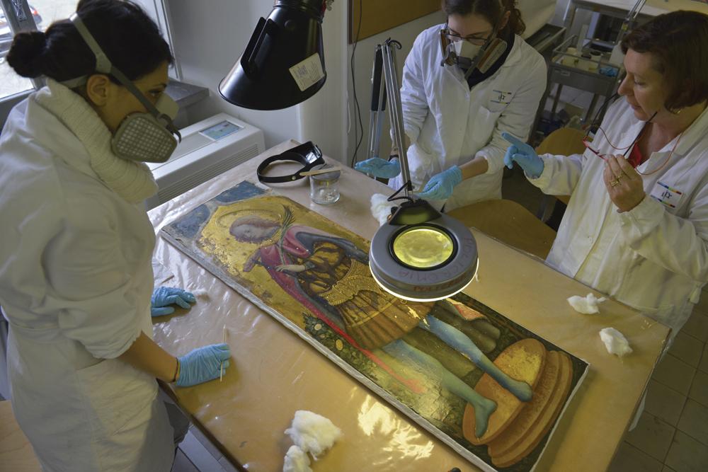 Scuola Di Restauro Roma.L Arte Di Restaurare L Arte Dimensioni Nuove Il Mondo Visto
