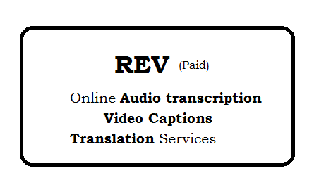 Rev: Online audio transcription, video captions and document translation services