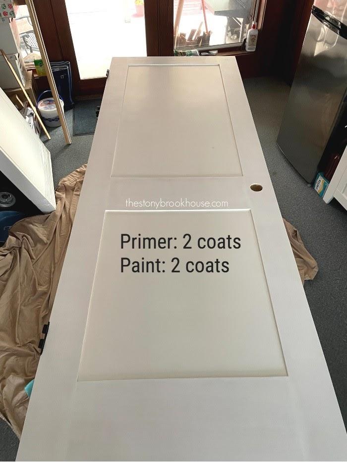 Prime & painting door