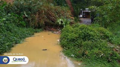 Emergencia por deslizamiento de Tierra en el Barrio Fuego Verde.