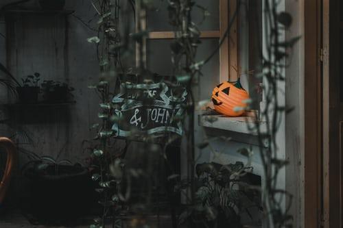 halloween time desktop background