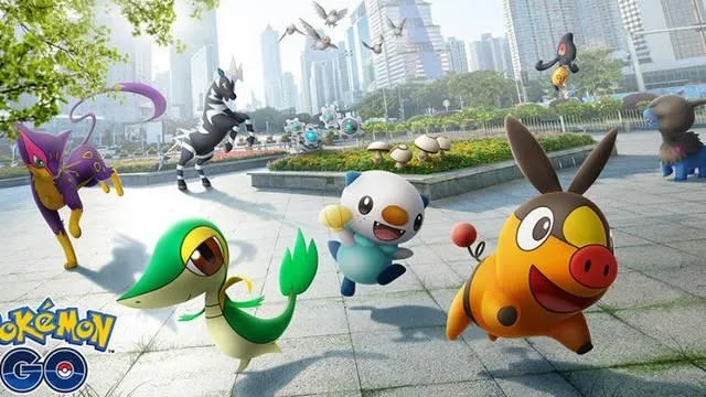 Pokémon GO, 5th Generation: All the Pokémon that we can get