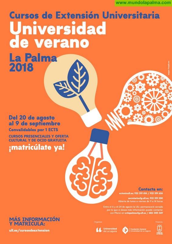 La Universidad de Verano oferta un curso especializado en las condiciones de La Palma como destino enogastronómico