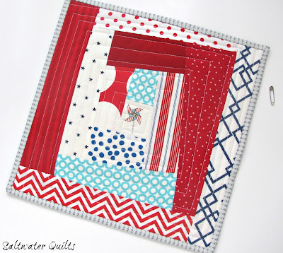 Sew as You Go | Quilted Trivet | © Saltwater Quilts 2012