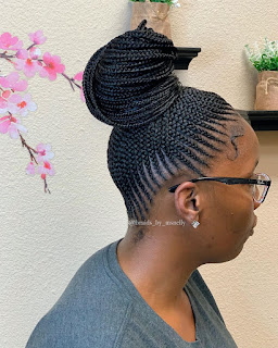 New Ghana Weaving Shuku Hairstyles 2020