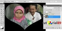 Cara Membuat Bingkai Foto Love Dengan Photoshop