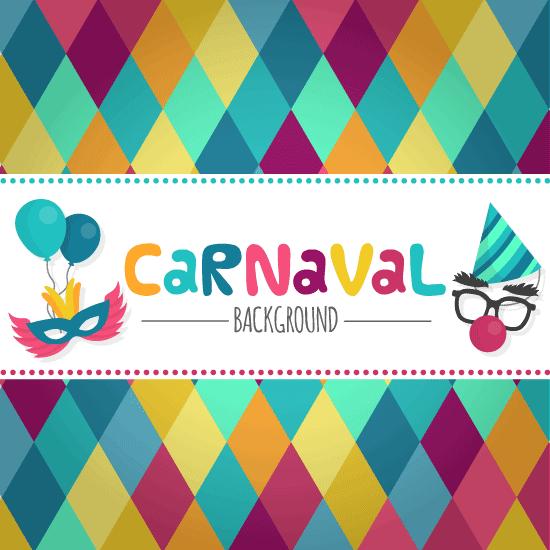 Cartel de Carnavales - vector