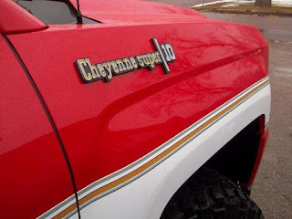New Chevy Cheyenne Super 10 Red