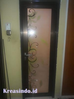 Harga Berbagai Macam Pintu Kamar Mandi Aluminium